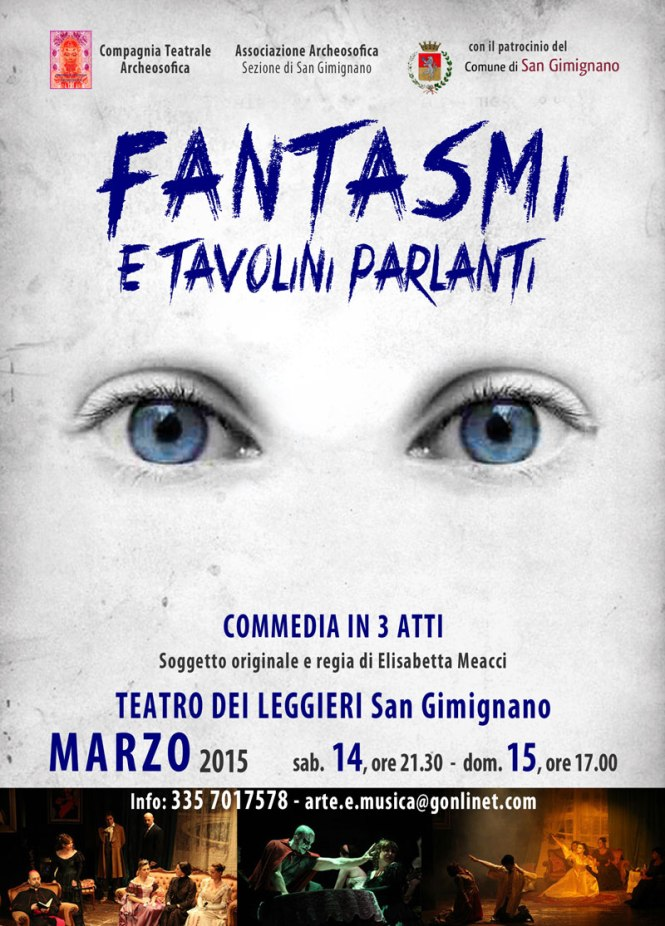 Fantasmi e Tavolini Parlanti-SGimignano-2015