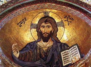 Cristo Pantocrator Duomo Monreale