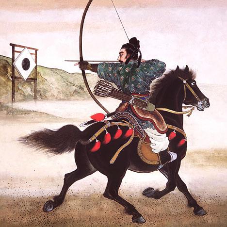bersaglio per arco mongolo