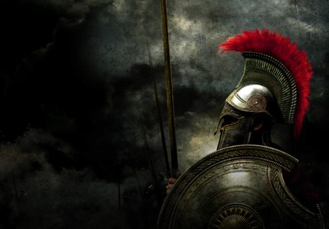 guerriero greco