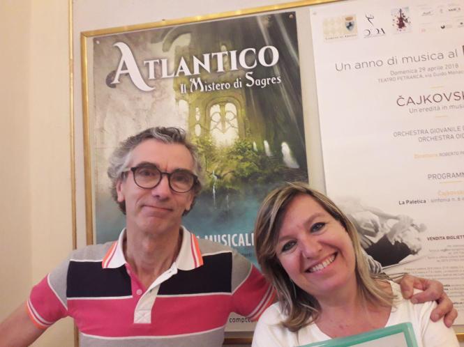 Alessandro Boncompagni e Valentina Palmucci